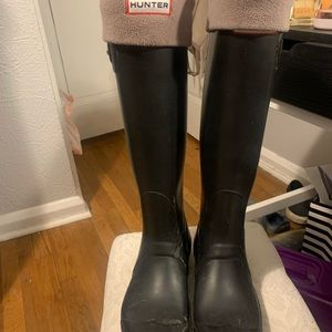 Hunter boots that just need some simple loving